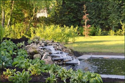 J m tuinstyling for Landelijke tuin aanleggen